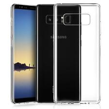Samsung Galaxy Note 8 Hülle Handy Case Silikon Cover Tasche Dünn Transparent