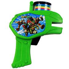 6pc Teenage Mutant Ninja Turtles Soft Foam Disc Shooter Slime Green Blaster