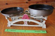 Nem Hitelsitheto Kitchen Scale SALGOTARJAN Hungary Antique Balance 5kg cast iron