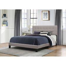 Hillsdale Furniture Delaney Full Bed, Frame & Wood Slats, Stone - 2009-463