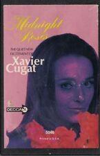 Xavier Cugat Midnight Roses Music Cassette Decca Black Case With Paper Label
