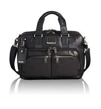 Genuine Tumi Albany Slim Commuter Leather  Briefcase