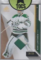 Kari Lehtonen 2014-15 SP Game Used 2 Color Patch 18/25 Dallas Stars