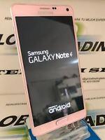 TELEFONO SAMSUNG GALAXY NOTE 4 SM-N910F 32GB ROSA PINK USADO GRADO A PERFECTO