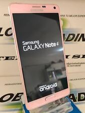 PHONE SAMSUNG GALAXY NOTE 4 SM-N910F 32GB PINK PINK USED GRADE TO MINT CONDITION
