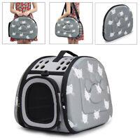 Pets Dog Cat Carrier Travel Crate Bag Tote Shoulder Handbag Kennel Puppy