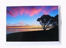 Lake King Sunset Cards, Note Cards, Handmade Cards, Blank Greeting Cards