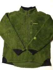 Patagonia Deep Pile Jacket Fleece Large Green Vtg
