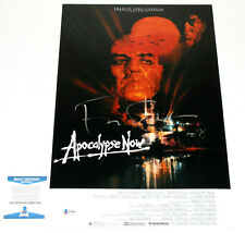 Francis Ford Coppola Signed Apocalypse Now 12x18 Movie Poster Coa Beckett Bas