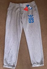 BNWT Adidas Originals Mens Grey Corhtr Sweat Pants Track Bottoms Joggers Size XL