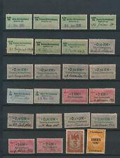 Deutsche Steuermarke  Fiskalmarke  Gebührenmarke  Gerichtsmarke  Stadtmarke (241