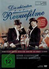 DVD-BOX NEU/OVP - Die schönsten deutschen Revuefilme - 4 Spielfilme