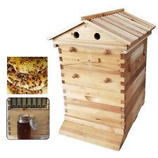 Beehive Wooden Box Beekeeping Beginner Cedar Super Brood Box Honey Bee Hive UK