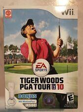 Brand New!!! Tiger Woods PGA Tour 10 Motion Bundle (Wii, 2009) Factory Sealed!!!