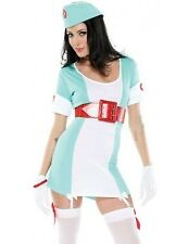 Forplay Costume Vintage Nurse 595005 Green/White Medium/Large