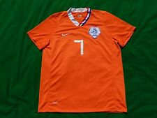 NETHERLANDS HOLLAND 2008 HOME FOOTBALL SHIRT V. PERSIE 7 ,MENS MEDIUM