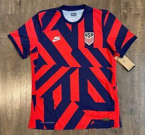 Nike USA 2021 Match Away Vaporknit Men's Large L Soccer Jersey CZ4311-421 NWT