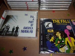 THE FALL  x 16 brand new cds trade price joblot