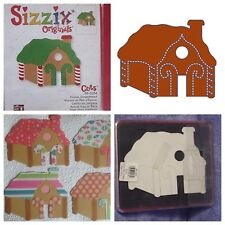 Sizzix Die Gingerbread House Scrapbook Christmas Diecut Xmas Retired Holiday NEW