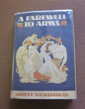 A FAREWELL TO ARMS by Ernest Hemingway - 1st/1st - 1st state HCDJ 1929 - VG+