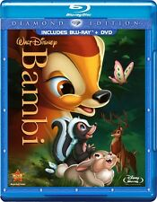 Disney's Bambi (Blu-ray/DVD, 2011, 2-Disc Set, Diamond Edition)