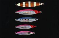 5pcs/set Micro Jigs Buttefly Jig Slow Fishing Lures Snapper Tuna Jigging baits