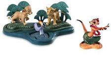 """WDCC The Lion King """"One Saying See Here""""WDCC The Lion King Timon """"Luau""""SET"""