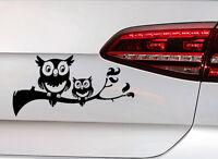 Eule Aufkleber Vogel Owl Bird Sticker Sweet Süßes Tier OEM JDM Decal Fun Sticker