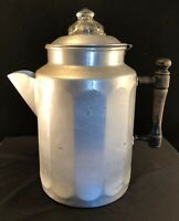 Lifetime Aluminum Percolator Coffee Pot Vintage