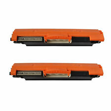 2PK Black Toner Cartidge CE310A for HP LaserJet CP1025NW CP1020 Pro100 M175NW