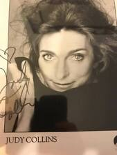 Judy Collins Hand Signed Autographed  8 x 10 Photo