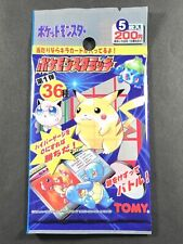 Pokemon Scratch Card Sealed Pack TOMY Japanese Pocket Monsters NEW