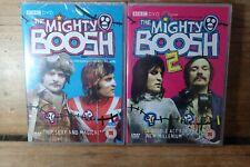 THE MIGHTY BOOSH SERIES 1 and 2 - BBC COMEDY DRAMA REGION 2 DVDS