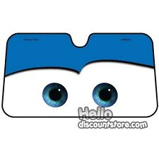 Disney Cars McQueen Windshield Front Window Sun Shade : Blue Face