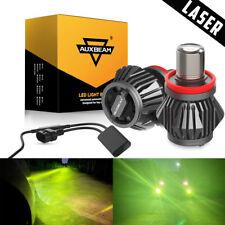 Laser Led Fog Driving Light Bulbs Auxbeam H11 H8 H9 Mdx1 20W 2400Lm 3000K Amber