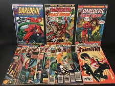 MARVEL DAREDEVIL LOT 82, 95, 96, 99, 109, 111, 114, 120, 124, 174 AND MORE
