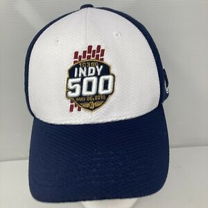 2019 Indianapolis 500 103rd Running Event Collector Cap Navy White Limited Ed