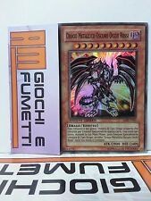 DRAGO METALLICO OSCURO OCCHI ROSSI in italiano YUGIOH RARA SUPER originale