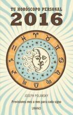 2016 - Tu Horoscopo Personal (Paperback or Softback)