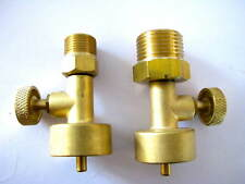 Jewelers Little Torch Disposable Propane & Oxygen Tank Valves to CGA 200 & 540
