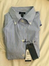Faconnable Blue and White Solid Pinstripe Women's Size 16