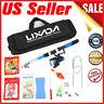 Lixada Fishing Tackle Set 2.1m Telescopic Rod Spinning Reel Fishing Bag Kit USA