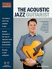 """THE ACOUSTIC JAZZ GUITARIST"" MUSIC BOOK W/AUDIO/VIDEO DOWNLOADS-NEW ON SALE!!"