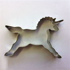 Hot Unicorn Cookies Cutter Mold Cake Decorating Biscuit Pastry Baking Mould S&U