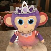 "WONDER PARK Princess Monkey Plush Stuffed Animal 14"" 2019"