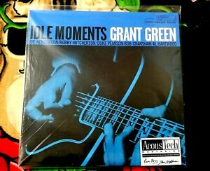 GRANT GREEN IDLE MOMENTS SEALED ANALOGUE PRO/ACOUSTECH 45RPM 2LP BLUE NOTE 2009
