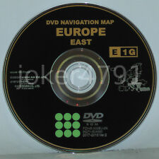 Toyota/Lexus Original Navigation DVD e1g 2017/2018 OST L'Europe, East Europe, NEW
