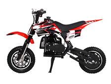 KIDS 49cc 50cc 2-Stroke GAS Motor Mini Pocket Dirt Bike Free S/H RED H DAKAR