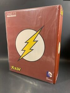 """MEZCO DC COMICS ONE:12 1:12 THE FLASH 6"""" FIGURE US SELLER AUTHENTIC"""