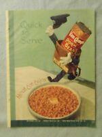 1949 Magazine Advertisement Page Van Camp's Pork & Beans A&P Peanut Butter Ad